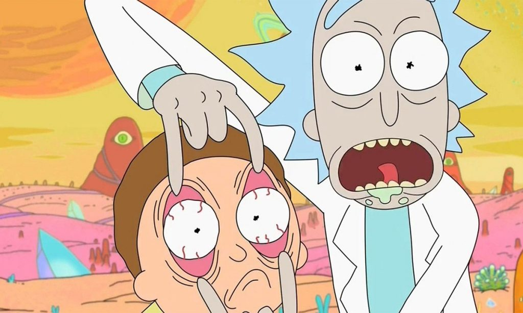Rick and Morty chegará na Netflix