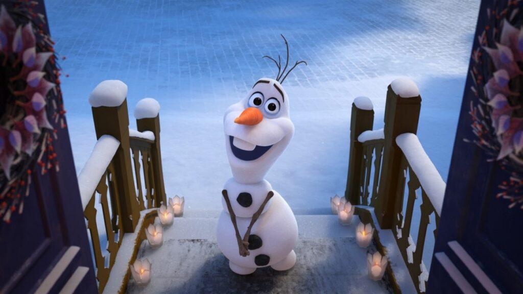 O Olaf derrete?